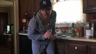 Putting on Fresh Socks in the Kitchen thumbnail