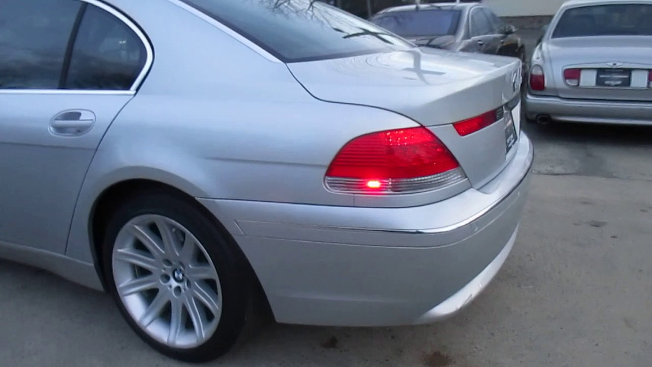 2002 Bmw 7 Series 745li 2614