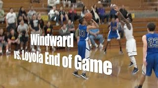 Windward vs. Loyola, End of Game, 12/27/14
