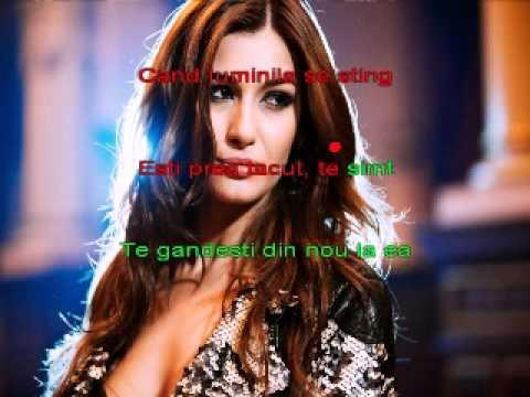 Alina Eremia - Cand luminile se sting ( karaoke)