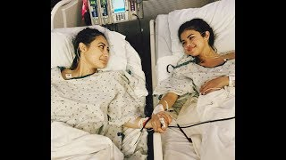Selena gomez has received a kidney transplant due to her struggle with lupus.