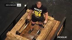 Mateusz Kieliszkowski Record Breaking Frame Carry at the 2020 Arnold Strongman