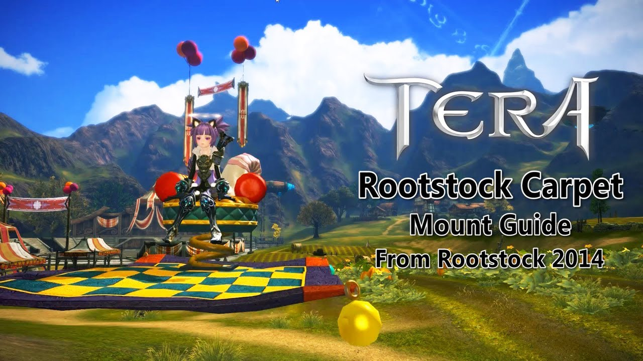 Tera How To Get The Free Rootstock Carpet Mount Youtube