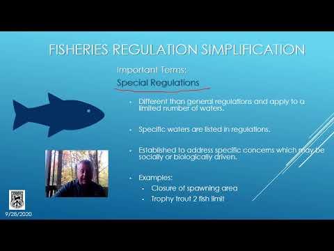 Simplifying VT Fishing Regulations