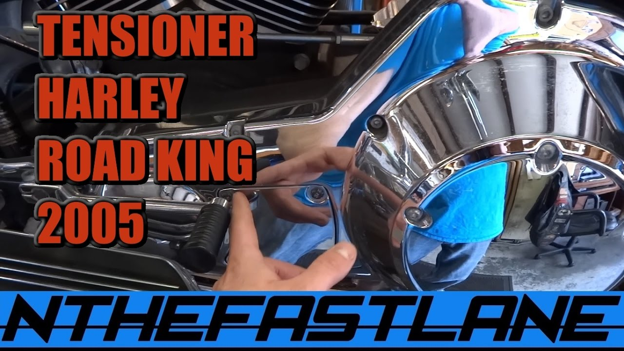 Harley Davidson Youtube 03 Lancer Es Wiring Diagram Primary Chain Tensioner: How To Adjust (harley Road King Custom 2005) -