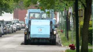 City of Chicago Elgin Pelican street sweeper (Dept. of Streets and Sanitation) 04/30/2012