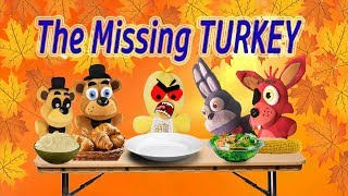 Fnaf Plush-The Missing Turkey (Thanksgiving Special)