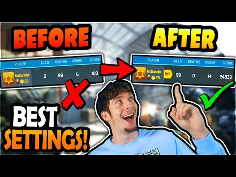 Call Of Duty Mobile BEST SETTINGS (NO LAG) - Aim + Shoot 200% Better On CoD Mobile