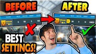 Call of Duty Mobile BEST SETTINGS (NO LAG) - Aim + Shoot 200% better on CoD Mobile