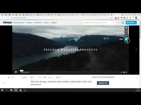 Как скачать видео с Vimeo