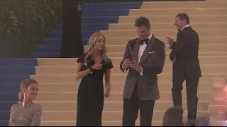 Tom Brady and Gisele Bundchen,Met Gala 2017