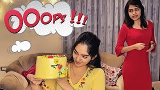 I tried to bake a cake and this happened | Ahaana Krishna | Diya Krishna