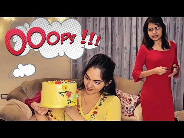 I tried to bake a cake and this happened | Ahaana Krishna | Diya Krishna