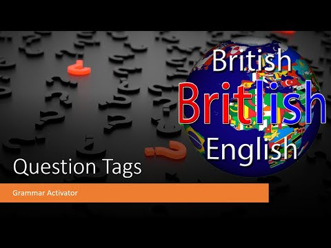 English Vocabulary and Grammar - Question Tags