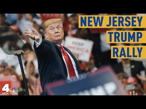 President Donald Trump Speaks At New Jersey Rally | NBC New York