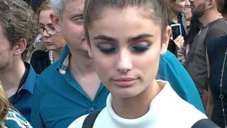 Taylor MARIE HILL @ Paris Fashion Week September 2014 / Saab