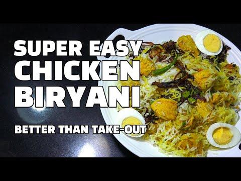 Easy Chicken Biryani - Instant Biryani - Chicken Rice - Biryani Youtube