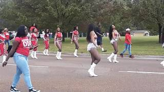 PLEASE SUBSCRIBE The Dancing Dolls at the 2017 JSU Homecoming Parad...