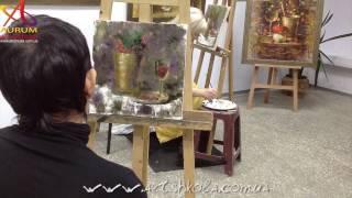 Мастер-класс живописи Елены Ильичевой 3-4.11.2012