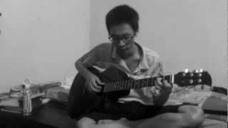 mưa trên cuộc tình guitar cover