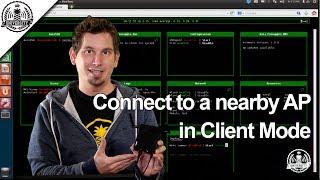 Se connecter à proximité de l'AP en Mode Client - WiFi Ananas Marque V - Ananas Université