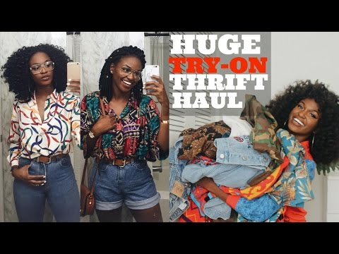Baixar HUGE TRY-ON THRIFT HAUL + Tips | All items under $5!