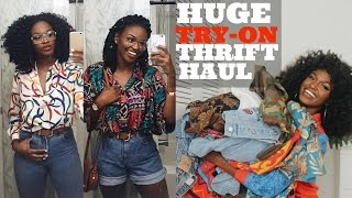 HUGE TRY-ON THRIFT HAUL + Tips | All items under $5!