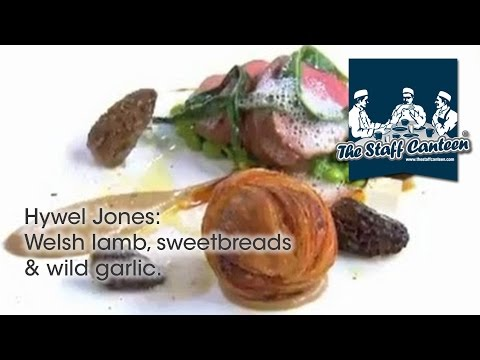 Michelin Starred Chef Hywel Jones Creates A Welsh Lamb, Sweetbreads & Wild Garlic Recipe
