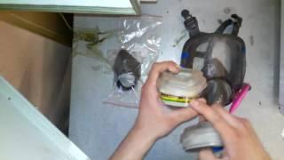 Полнолицевая маска 3М с пылевыми хлопковыми фильтрами из Китая. Обзор ElectroMAN review