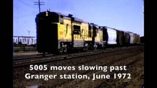 UP U50C locomotives