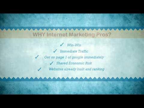 Internet Marketing Pros intro video