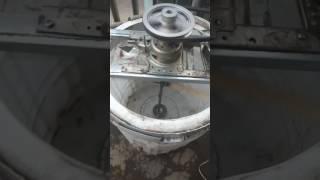 Modifikasi mesin cuci toploading menjadi mesin pengaduk sabun cair