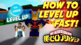 LEVEL UP FAST IN BOKU NO ROBLOX