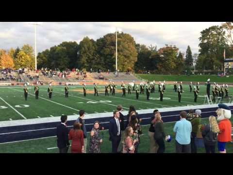 McBain High School Marching Band Performs at Hope College