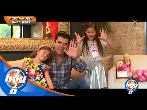 'Burro' Van Rankin alista la llegada de su tercera hija, Carlota   Hoy