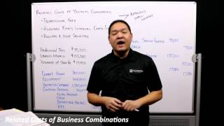 Advanced Accounting - Chapter 2 - Part 3 - Related Costs of Business Combinations