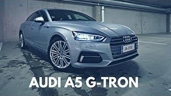 Audi A5 g-tron kaasuautoon tutustuminen