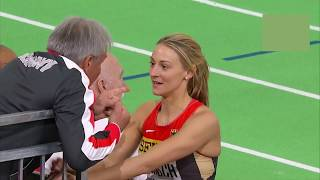 Kristin Gierisch great recent performances in the triple jump
