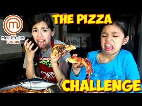 PIZZA CHALLENGE | MasterChef Junior Edition | KidToyTesters