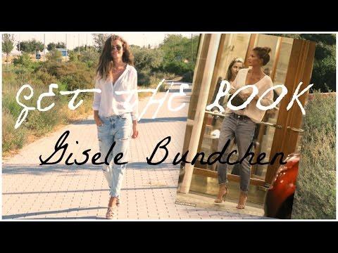 Get The Look | Gisele Bundchen | Makeup + Outfit