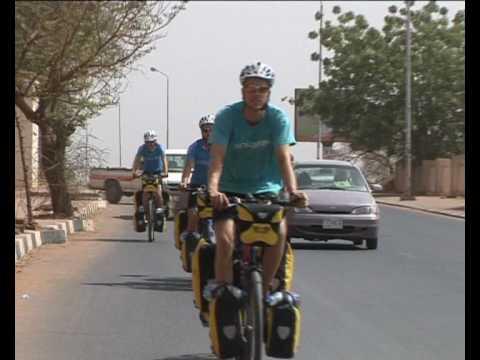 Bicycle expedition  in - Sudan - khartoum  السودان أمن و أمان