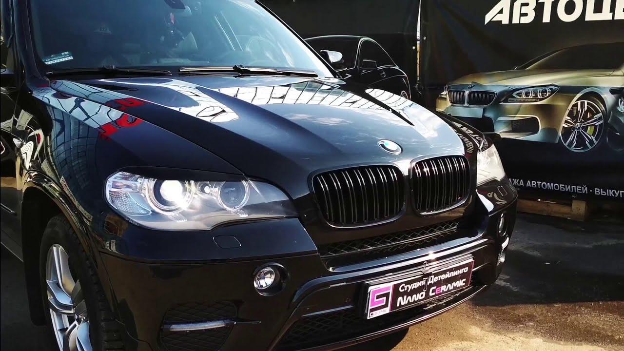 Предпродажная подготовка автомобиля БМВ Х5 - YouTube