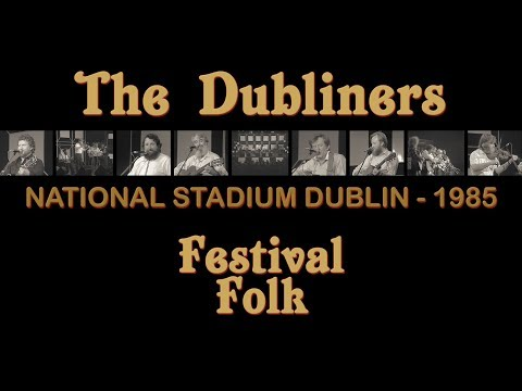 FULL CONCERT - The Dubliners with Special Guests | RTÉ Festival Folk (National Stadium Dublin, 1985)