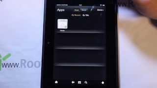 Kindle Fire HD Stock Amazon OS rom install