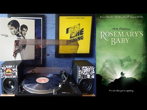 Rosemary's Baby (1968) Waxwork Records Soundtrack [ Ritual Smoke Full Vinyl] Krzysztof Komeda