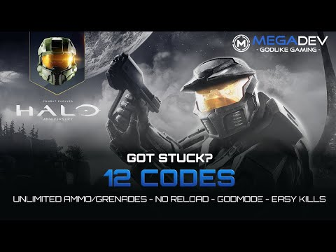 HALO CE - MCC Cheats: Godmode, Unlimited Ammo , Easy Kills, ... | Trainer By MegaDev