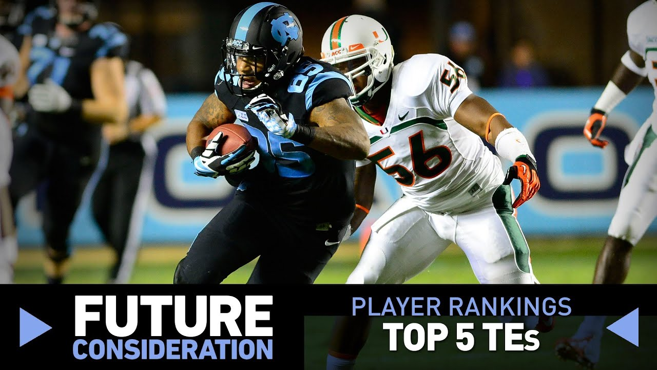 2014 NFL Draft: Ranking the top tight ends (Future Consideration)