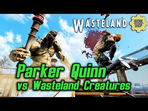 Fallout 4 Wasteland Workshop - Parker Quinn vs Wasteland Creatures