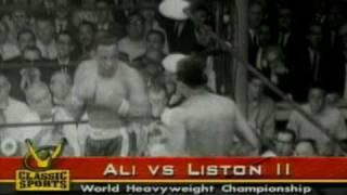 Ali vs Liston - Fight 2 - 1st Round Knockout