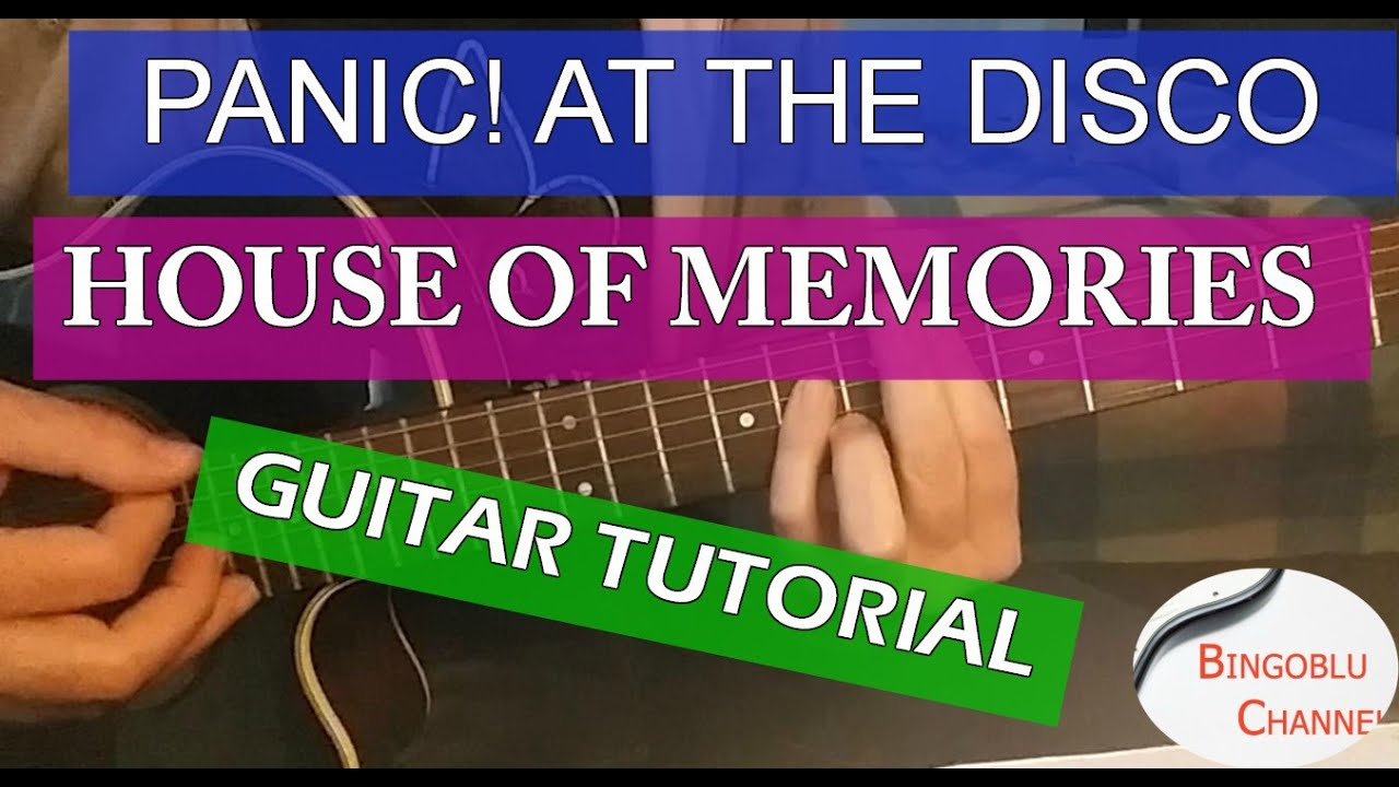 always panic at the disco guitar tutorial
